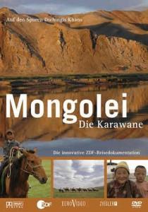 Mongolei die Karawane